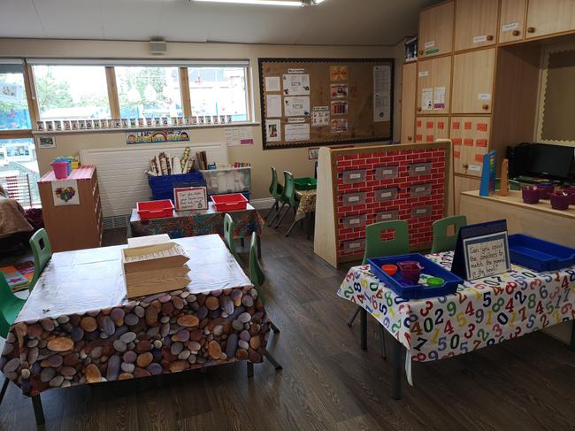 Maths and group activity tables
