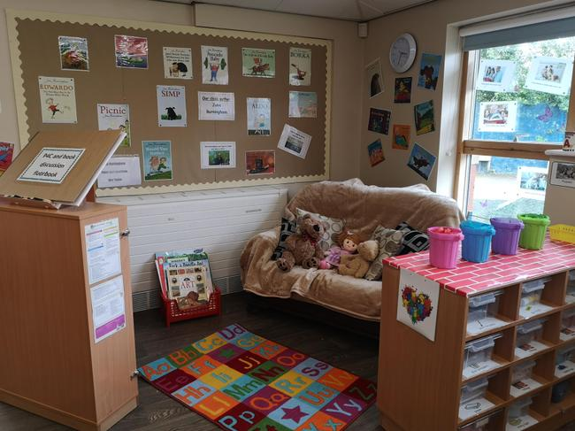 Our cosy reading corner