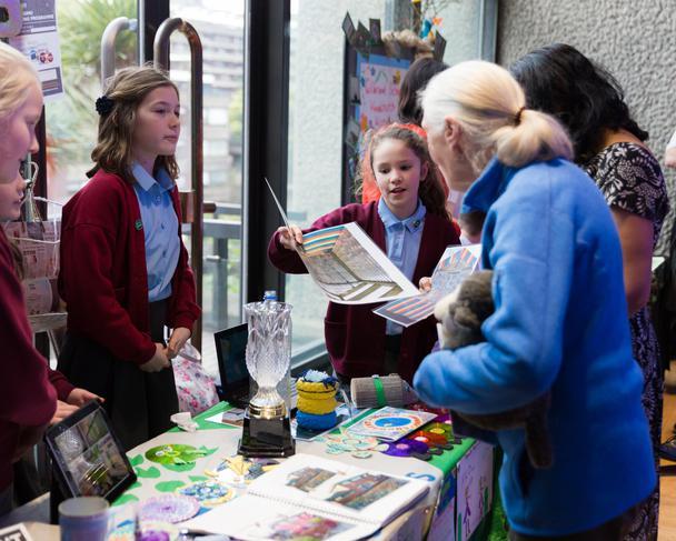 We met Jane Goodall, famous ecologist.