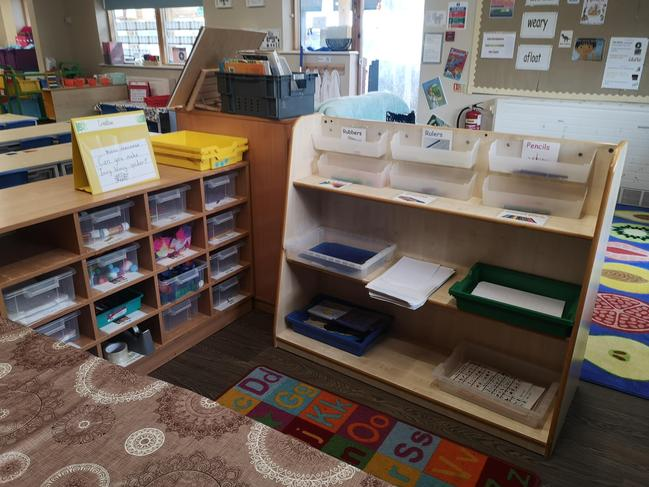 Writing and craft area