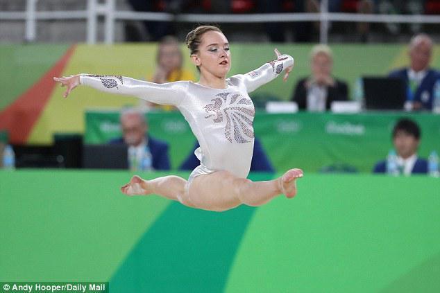 Amy Tinkler floor routine