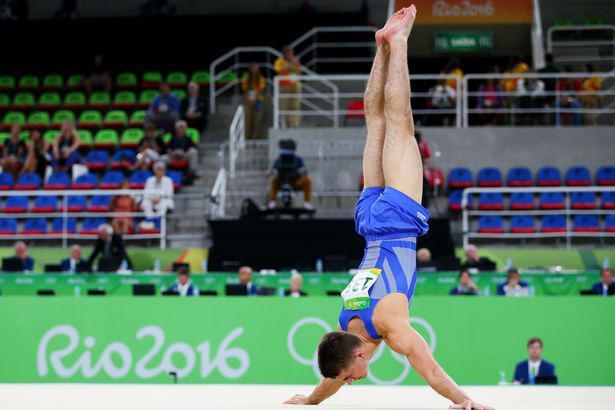 Max Whitlock floor routine