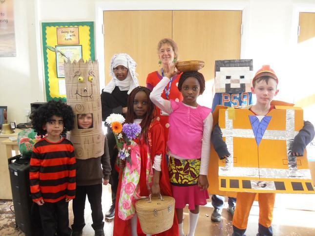 World Book Day Costume Winners
