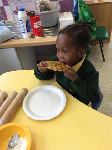 EYFS did some cooking.