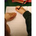 Practising our writing skills