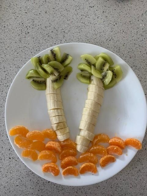A tropical fruit salad (Matthieu)