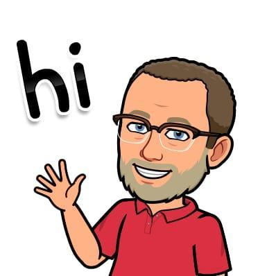 Watch out for Mr Searle's bitmoji friend!