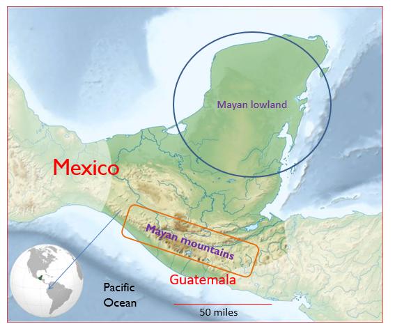 Where the Maya lived