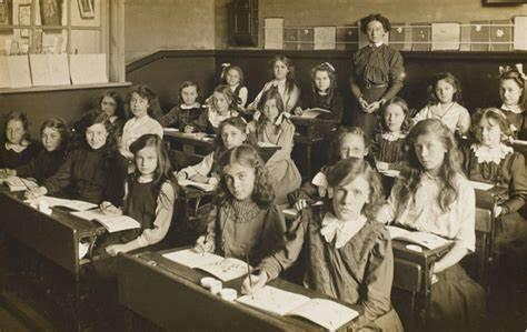 What was school life like in Victorian Times?