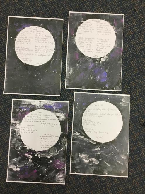 Cosmic Galaxy poems