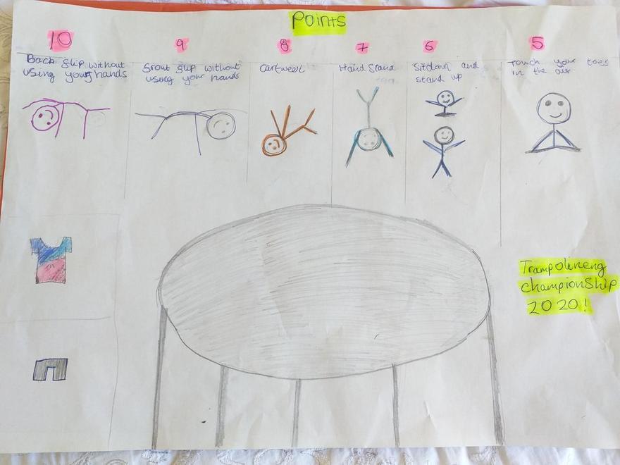 Priya's Trampoline Challenge