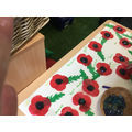 The poppies will be used on stage