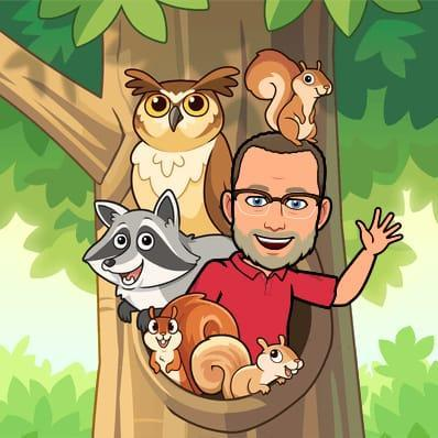 Mr Searle is a big fan of wildlife!