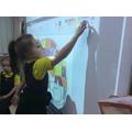 using technology to create Elmer the Elephant