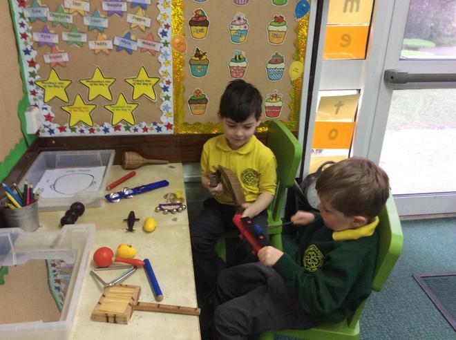 Exploring sound and rhythm