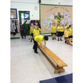 developing our phsical skills in PE