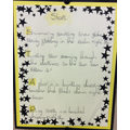 Acrostic Star Poem