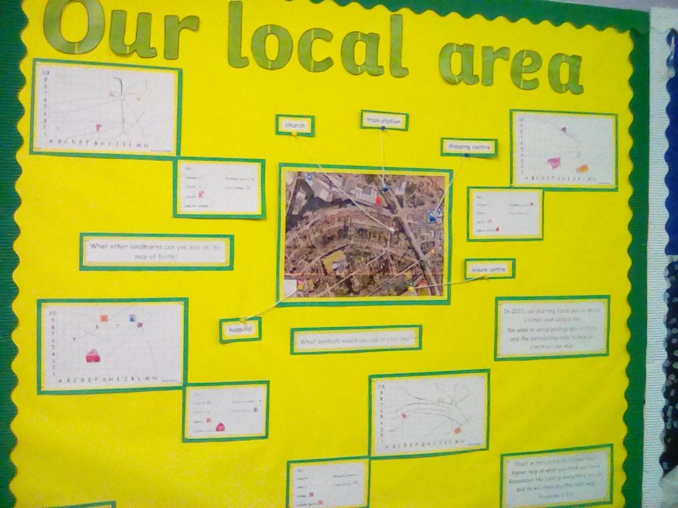 Year 2 work on the Local Area