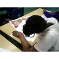 For Black History week we painted pictures using methods from different cultures