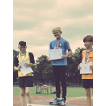 Gold in boys sprint
