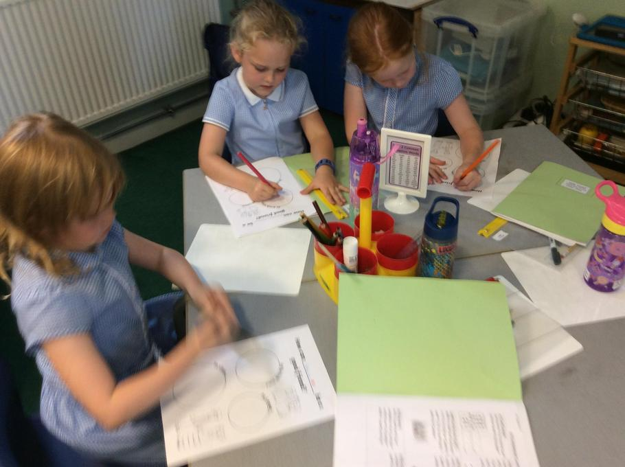 Settling into our new class