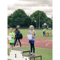 Silver in girls sprint