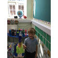 Look at our amazing sea monster junk models