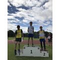 Gold in long jump