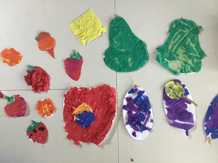 Year 1 took inspiration from Eric Carle's famous illustrations
