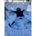 Jack's Snow angel
