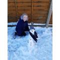Libby's Snowman :-)