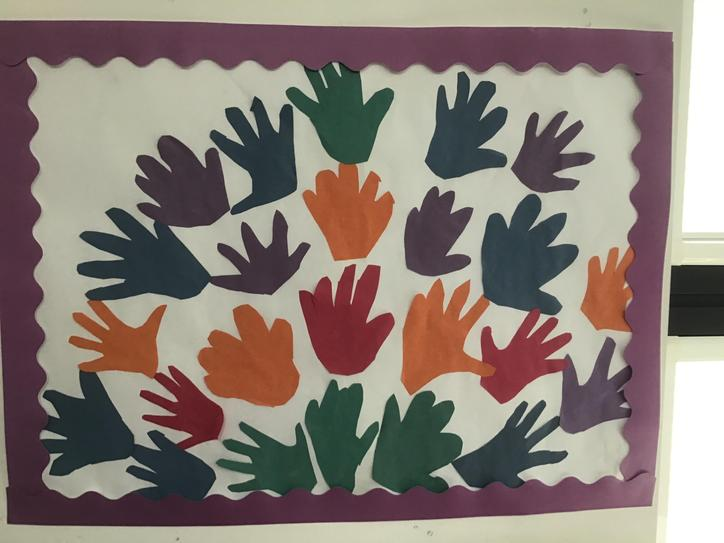 Reception had lots of fun learning about Henri Matisse