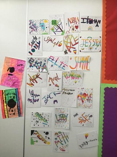 Year 5 thought about the impact and messages of graffiti artist Bansky