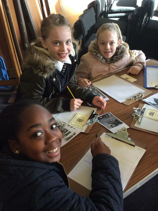 Group work with real documents and photos!