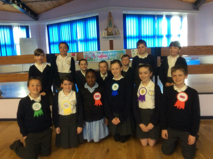 Our Year Six Candidates