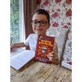 Well done Max for a lovely book review