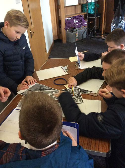 Group work with real documents!