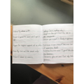 Eva S Spelling practice