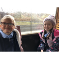 Lunch and train ride on the search for Santa