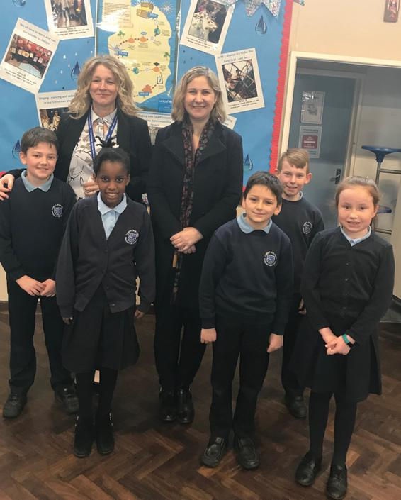 Anna McMorrin MP came to visit!