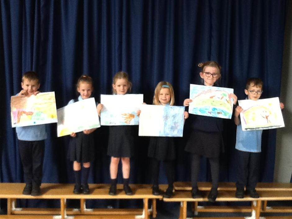 We ordered the paintings and retold the story.