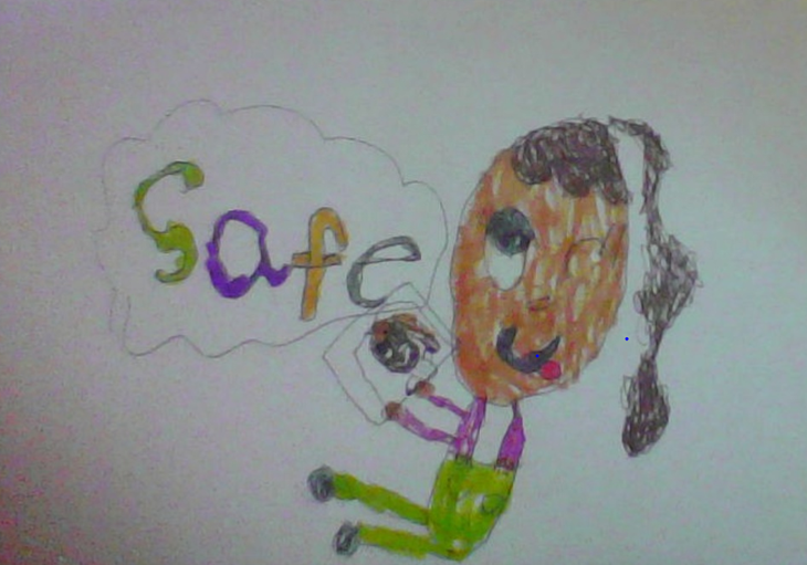 Year 1: Keeva's Internet Safety Poster