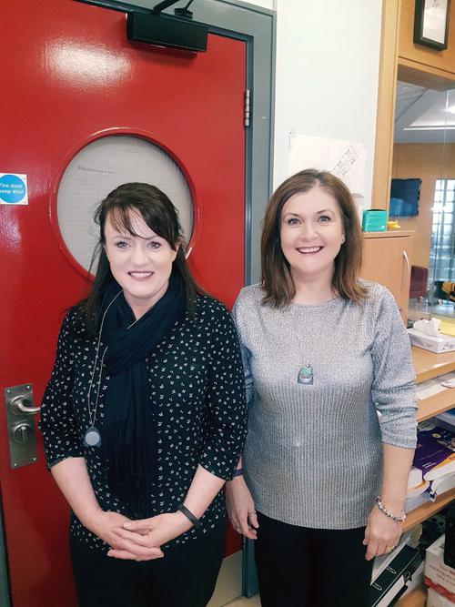 Office Staff: Catrina Leckey and Mary King