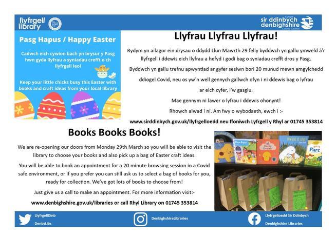 Rhyl Library Information