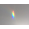 A prism can separate the different colours