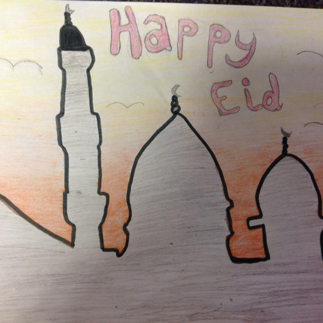 Eid Card Competition Design
