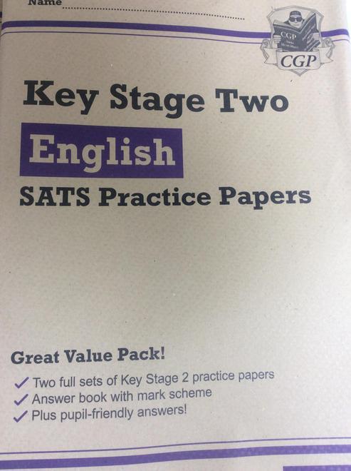 SPaG Paper 1 (45 mins) & Spelling Paper 2