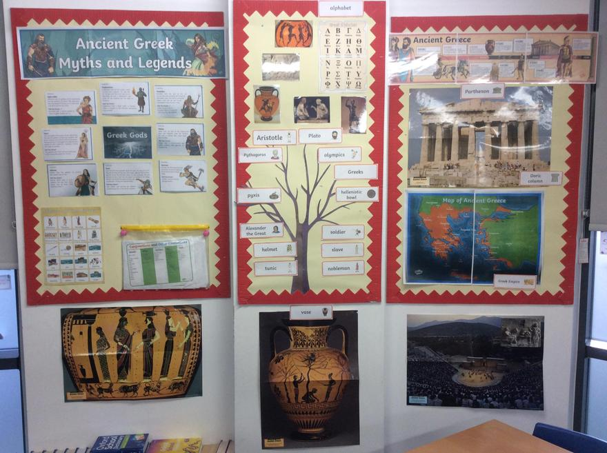 Our History Board