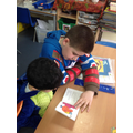 Buddy Reading with Reception class