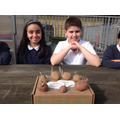 The Eco Club has met today to plant potatoes.